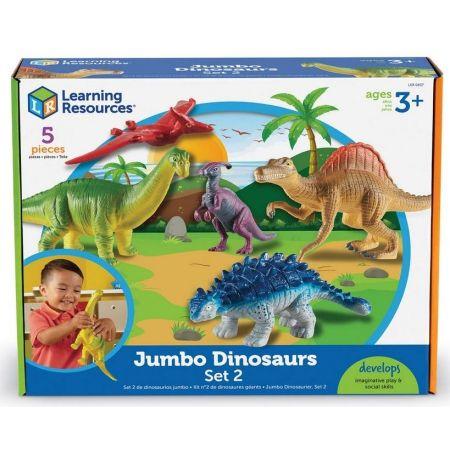 Duże Figurki. Dinozaury. Zestaw 2, 5 szt.