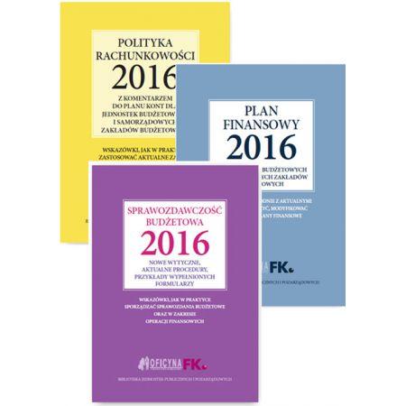 Polityka rachunkowości 2016 / Plan finansowy 2016 / Sprawozdawczość budżetowa 2016