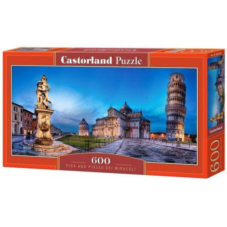 Puzzle 600 Pisa and Piazza dei Miracoli CASTOR