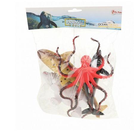 Zestaw 5 figurek zwierząt morskich deluxe