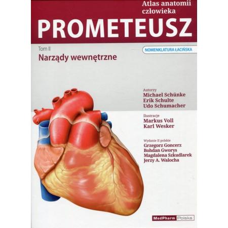 Prometeusz Atlas anatomii człowieka Tom 2 Narządy wewnętrzne