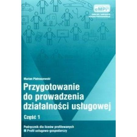 Przygotowanie do prowadzenia działalności usługowej, podręcznik, cz. 1