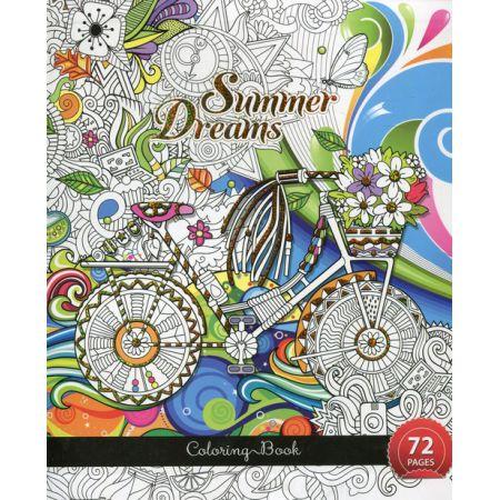 Kolorowanka Antystresowa Summer Dreams W Taniaksiazkapl