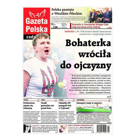Gazeta Polska Codziennie 122/2016