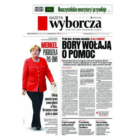 Gazeta Wyborcza - Warszawa 201/2017