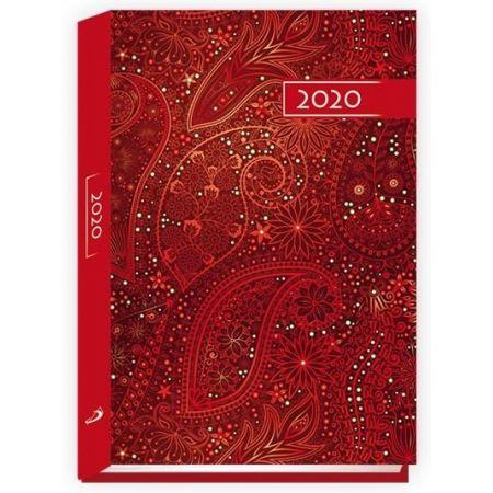 Terminarz 2020 B6 Kolorowy ornament