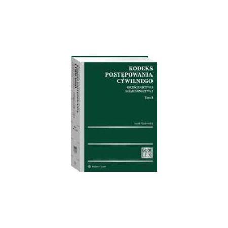 Kodeks postępowania cywilnego. T.1