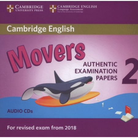 Cambridge English Movers 2 Audio CD