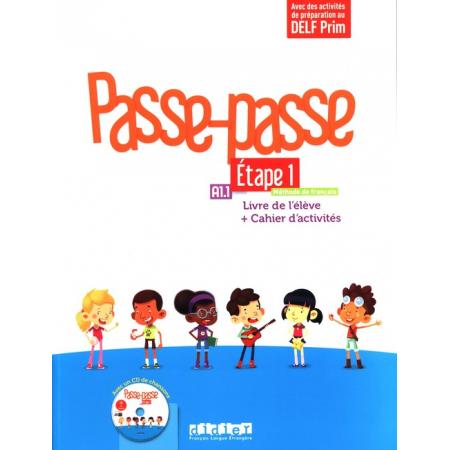 Passe-Passe Etape 1 Livre de l'eleve + Cahierd'activites + CD