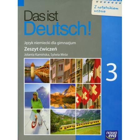 Das ist Deutsch! 3 Zeszyt ćwiczeń Język niemiecki