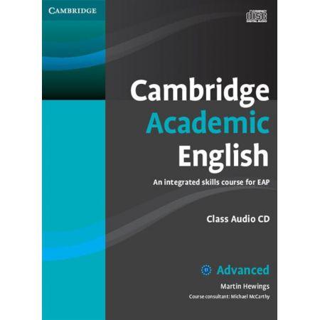 Cambridge Academic English C1 Advanced Class Audio CD