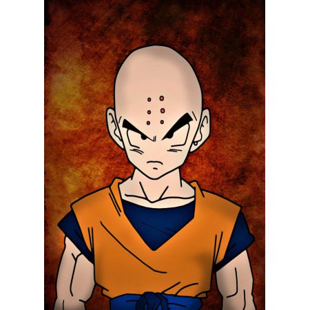 Dragon Ball - Krilin - plakat