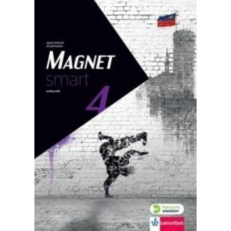 Magnet Smart 4 KB + CD w. wieloletnia LEKTORKLETT