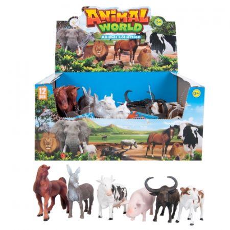 Zwierzęta domowe 15cm mix MC