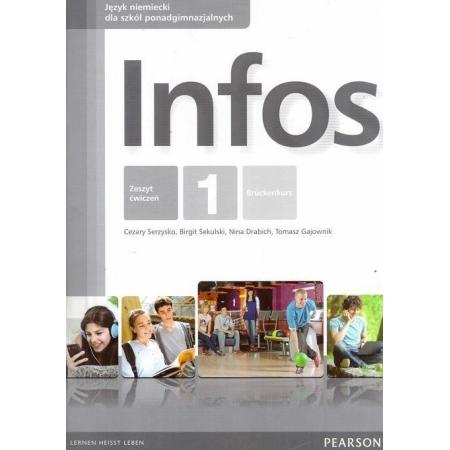 Język niemiecki. Infos 1. Zeszyt ćwiczeń wieloletni. Liceum i technikum