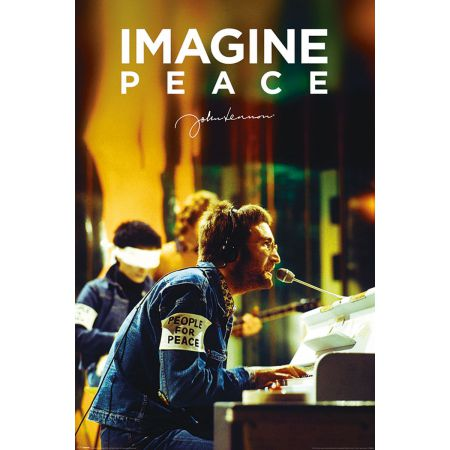 John Lennon People For Peace - plakat