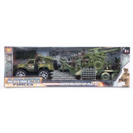 Auto wojskowe plus akcesoria MEGA CREATIVE 459805