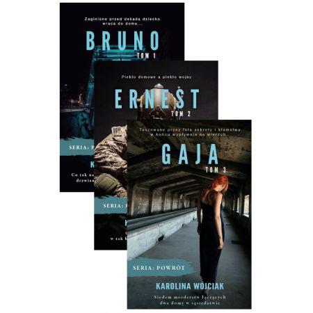 Pakiet Powrót. Tomy 1-3: Bruno, Ernest, Gaja