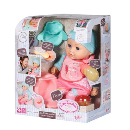Baby Annabell - Lunch Time Annabell 43cm
