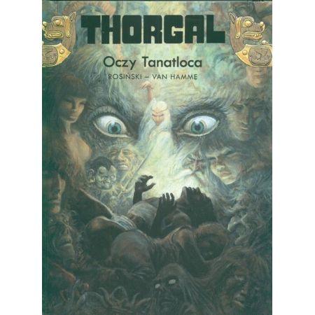 Thorgal, tom 11. Oczy Tanatloca