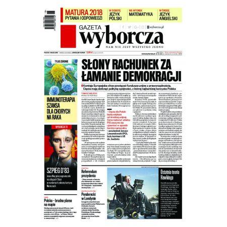 Gazeta Wyborcza - Kielce 102/2018