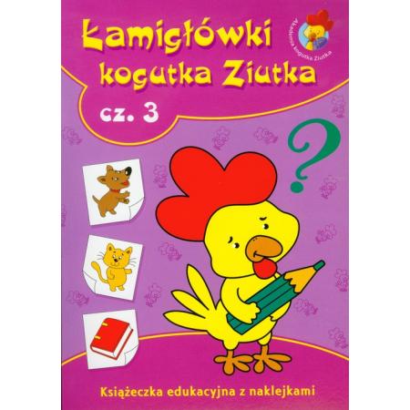 Łamigłówki kogutka Ziutka 3