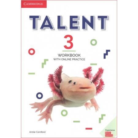 Talent 3. Poziom B2. Workbook with Online Practice. Zeszyt ćwiczeń do języka angielskiego