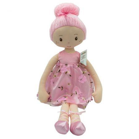 Lalka Luiza sukienka kwiaty 70 cm