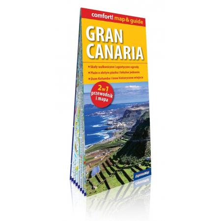 Comfort!map&guide Gran Canaria 2w1