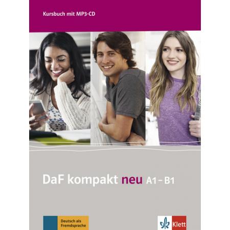 DaF kompakt Neu A1-B1 Kursbuch + MP3-CD