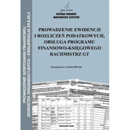 Kwalifikacja EKA.05.4. Prowadzenie ewidencji...