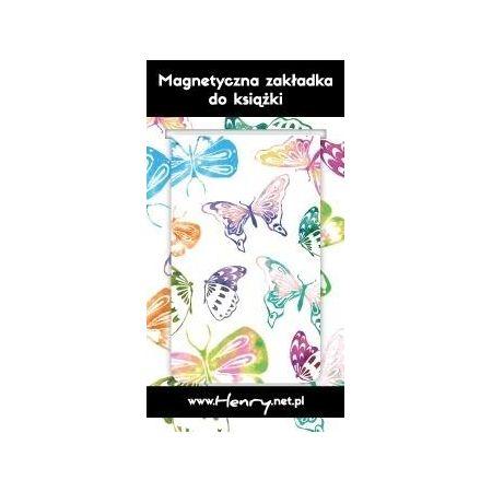 1b0a605b9ebd1d Zakładka magnetyczna - Motyle Henry w TaniaKsiazka.pl
