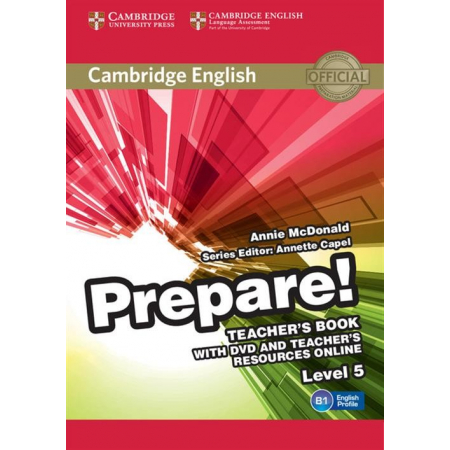 Cambridge English Prepare! 5 Teacher's Book + DVD