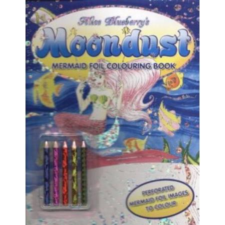 Alice Blueberry`s moondust. Memaid foil colouring book