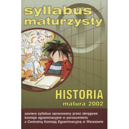 Syllabus maturzysty   Historia, matura 2002