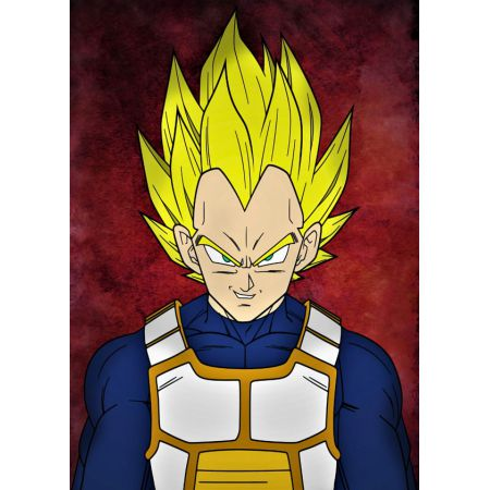 Dragon Ball - Vegeta - plakat