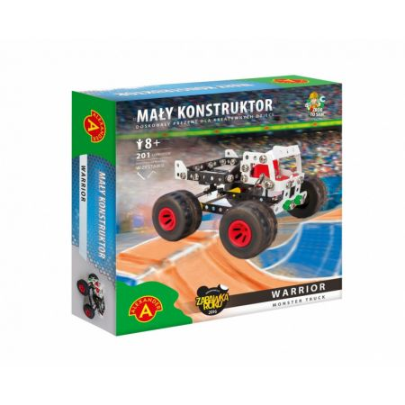 Mały Konstruktor Monster Truck - Warrior ALEX