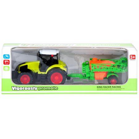 Traktor z akcesoriami MEGA CREATIVE 460182