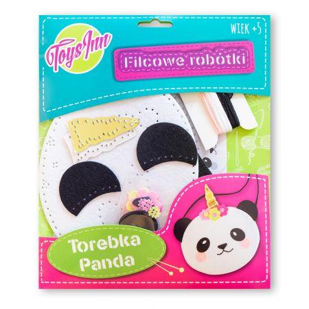 Filcowa torebka na ramię Panda STnux