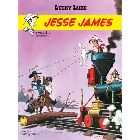 Lucky Luke.Jesse James
