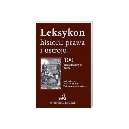 Leksykon historii prawa i ustroju