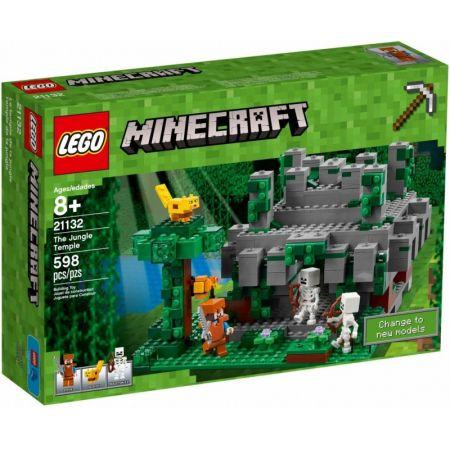 Lego Minecraft 21132 świątynia W Dżungli Klocki W Taniaksiazkapl