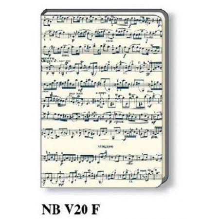 Notatnik ozdobny A5 NB V20 F ROSSI
