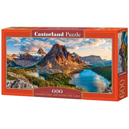 Puzzle Assiniboine Sunset, Banff National Park 600