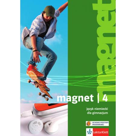 Magnet 4. Język niemiecki. Podręcznik. Gimnazjum