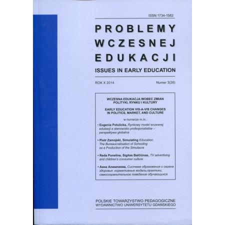 Problemy wczesnej edukacji nr 3 (26)/2014