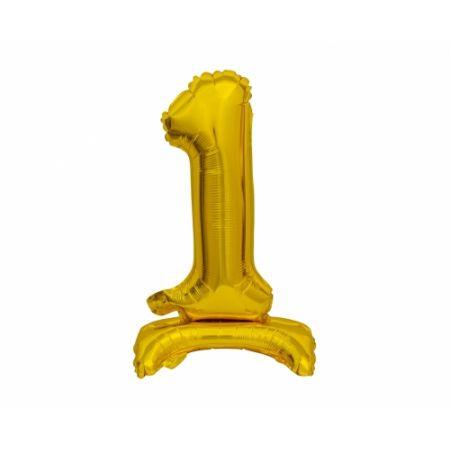 Balon foliowy B&C Cyfra stojąca 1