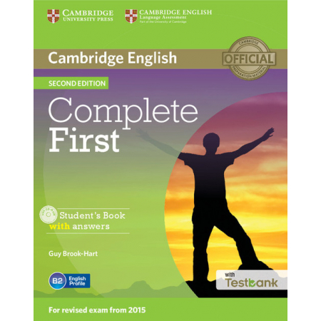 Complete First Student's Book with Answers with Testbank + CD