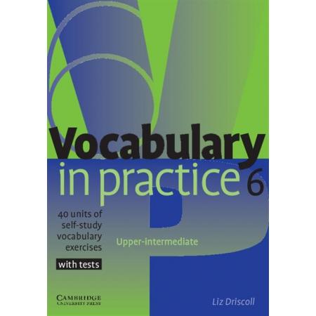 Vocabulary in Practice 6 Upper-intermediate