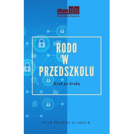 532d04032ff0f7 eBook RODO w przedszkolu. Krok po kroku pdf w TaniaKsiazka.pl